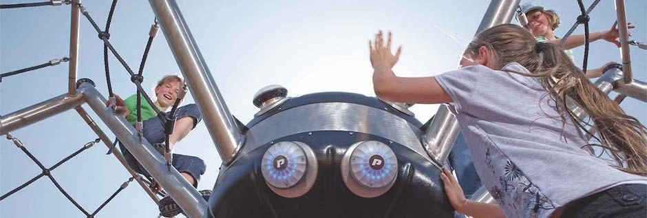 Интерактивные детские площадки - Новый Парк